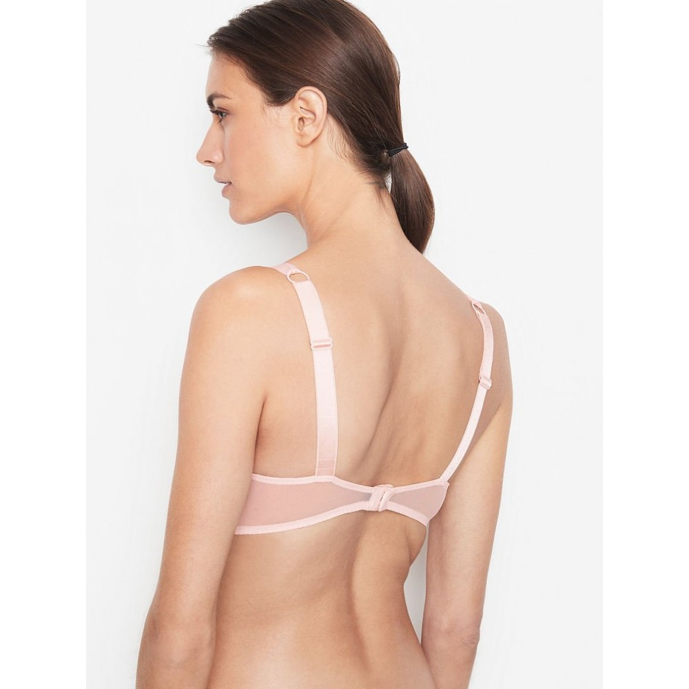 Бюстгальтер Victoria's Secret Rose Lace Shine Strap Bra