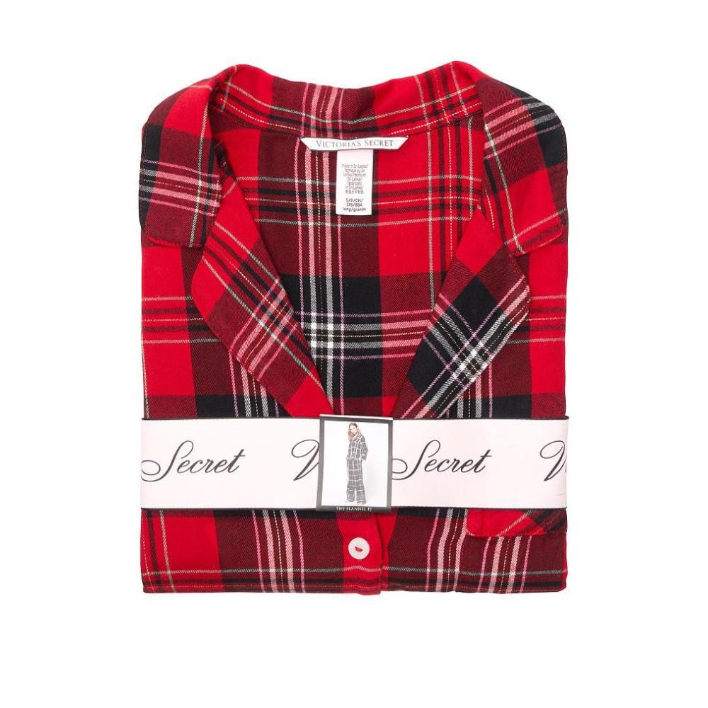 Піжама VS Flannel Long PJ Set